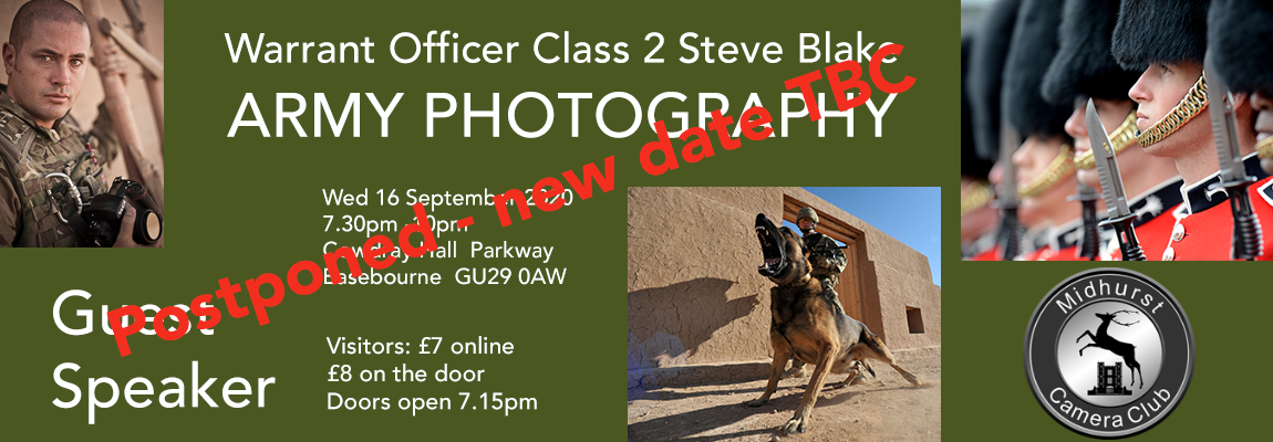 Warrant Officer Class 2 Steve Blake: Army Photography
