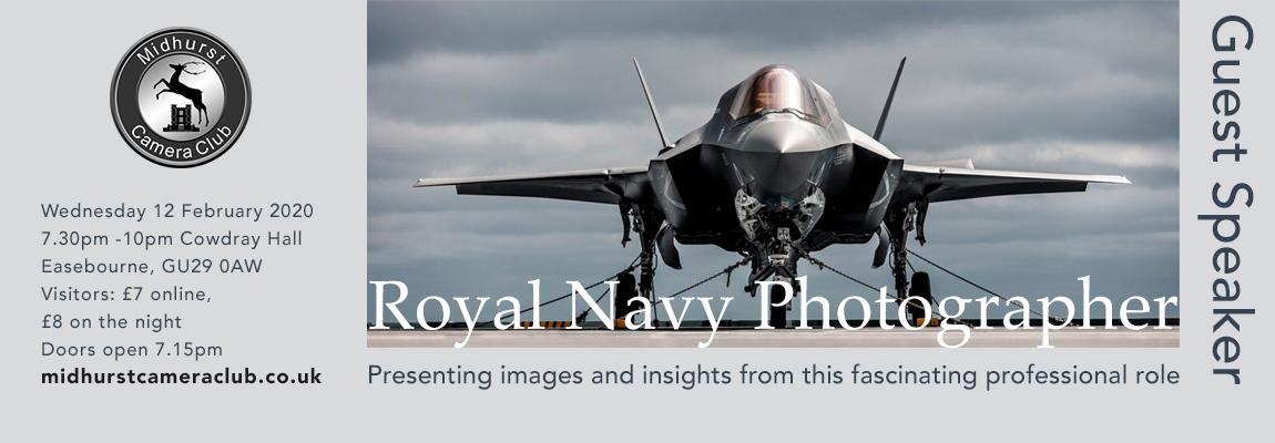 Speaker evening: Royal Navy Photographer