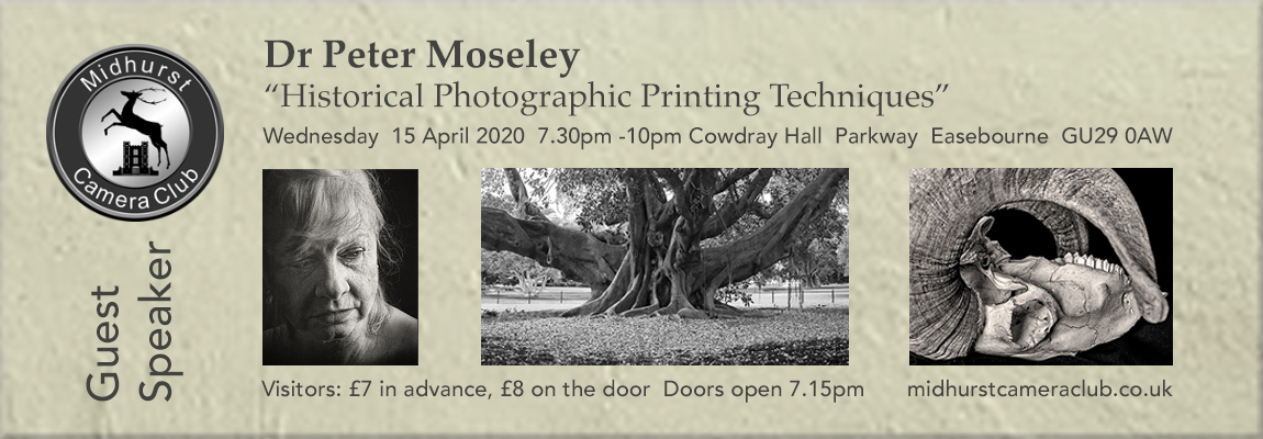 """Dr Peter Moseley: """"Historical Photographic Printing Techniques"""""""