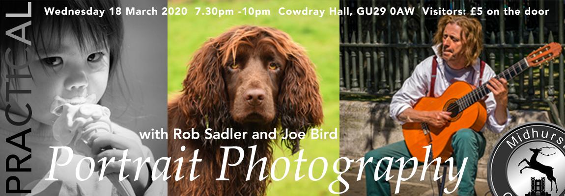 Practical: Portrait Photography with Rob Sadler and Joe Bird